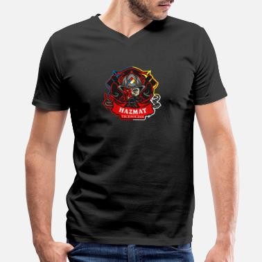 Hazmat Hazmat Technician - Men's V-Neck T-Shirt