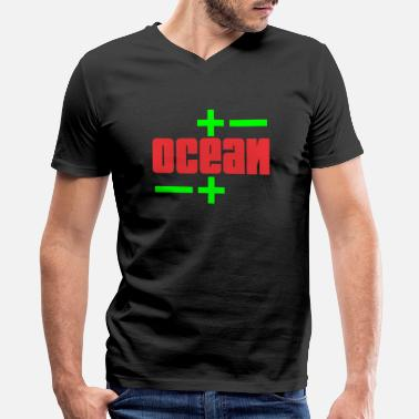 Oceanic Ocean - Men's V-Neck T-Shirt