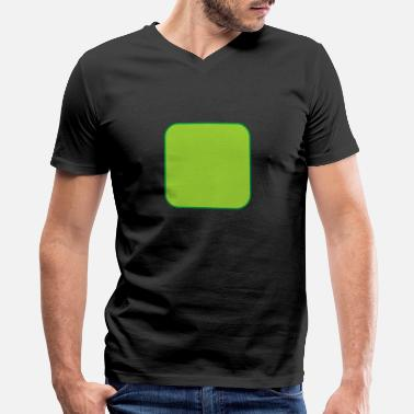 Quadrat Quadrat - Men's V-Neck T-Shirt