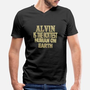 Alvin Alvin - Men's V-Neck T-Shirt