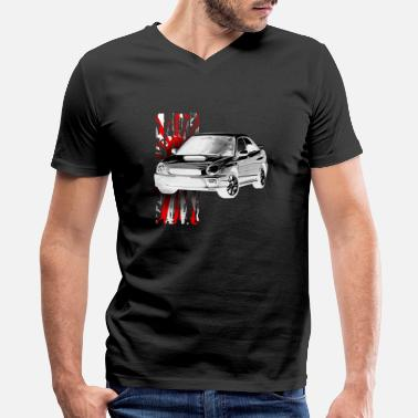 Bug Bug Eye Impreza - Men's V-Neck T-Shirt