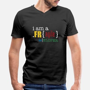 Fragile Developer - Men's V-Neck T-Shirt