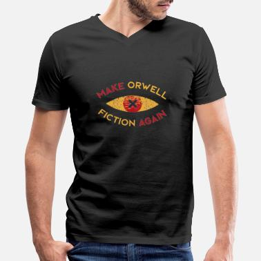 Arenal Aren Orwell Again - Men's V-Neck T-Shirt