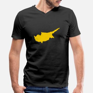 Cyprus Cyprus - Men's V-Neck T-Shirt