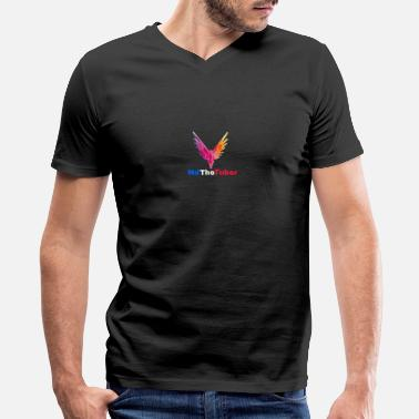 mdthetuber/shop - Men's V-Neck T-Shirt by Canvas