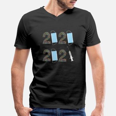 Body happy new year 2021 - Men's V-Neck T-Shirt