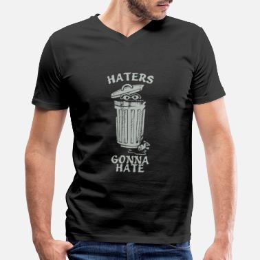 Haters Gonna Hate Haters Gonna Hate - Men's V-Neck T-Shirt