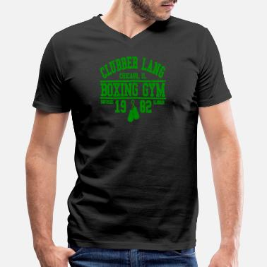 Clubbers CLUBBER LANG BOXING GYM - Men's V-Neck T-Shirt