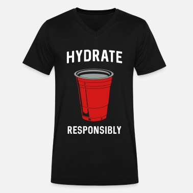 Hydrate responsibly Men's Premium T-Shirt | Spreadshirt