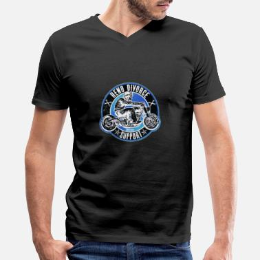 Renos RENO SUPPORT Bobber - Men's V-Neck T-Shirt