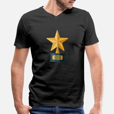 Award Awards Trophy - Men's V-Neck T-Shirt