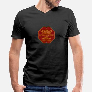 Storage Chemical Storage - Men's V-Neck T-Shirt