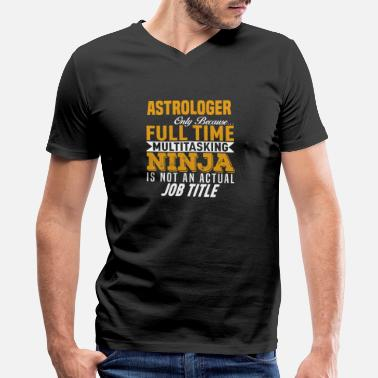 Astrology Astrologer - Men's V-Neck T-Shirt