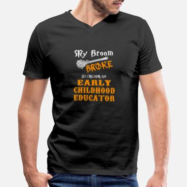 Childhood Early Childhood Educator - Men's V-Neck T-Shirt