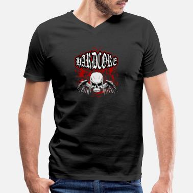 Hardcore Festival Hardcore - Men's V-Neck T-Shirt by Canvas