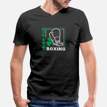 Irish Pub Boxing Irish pub boxing - Men's V-Neck T-Shirt
