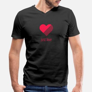 Just Love Just love - Men's V-Neck T-Shirt