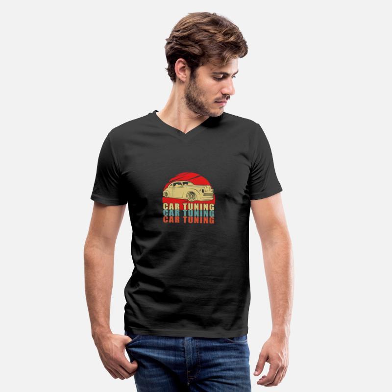 ef102ef4b8 Turbo T-Shirts - Tuning - Men s V-Neck T-Shirt black