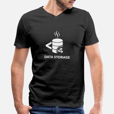 Storage Data storage - Men's V-Neck T-Shirt