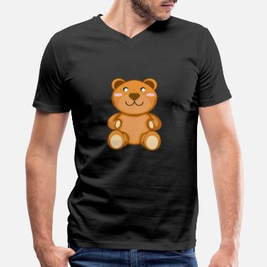 Cute Teddy Bear Fashion Mens T-Shirt and Hats Youth /& Adult T-Shirts