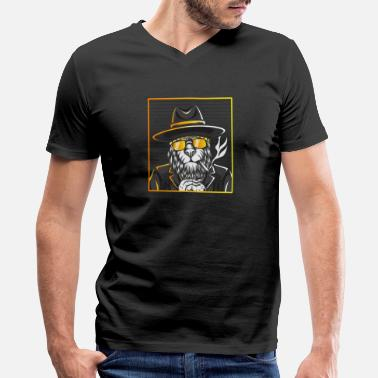 Pretty Boy Pretty Boy Lion - Men's V-Neck T-Shirt