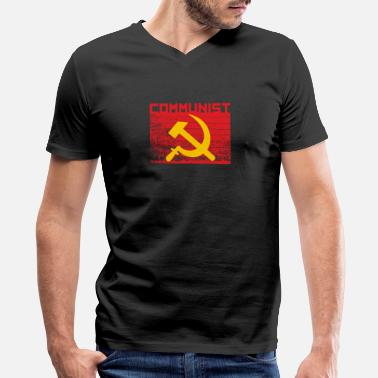 Communists Communist - Men's V-Neck T-Shirt