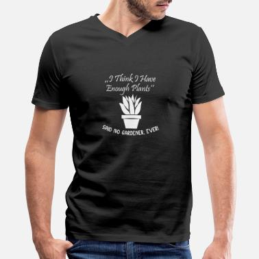 Botanical Gardener Plants Gardening - Men's V-Neck T-Shirt