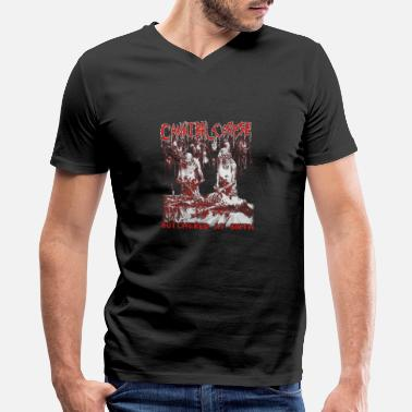 Cannibal Cannibal corpse - Butchered at birth cool t - sh - Men's V-Neck T-Shirt