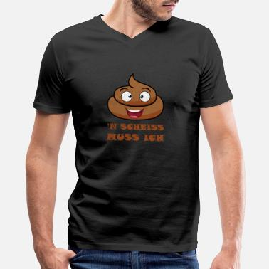 Finger Poop - Der Scheisshaufen - Men's V-Neck T-Shirt