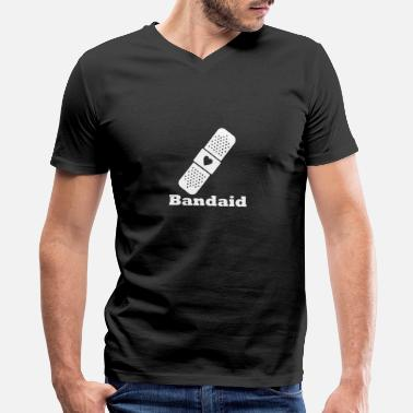Bandaid Bandaid - Men's V-Neck T-Shirt