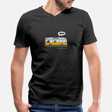 Rosa Rosa Parks Bus anti racism Nah Nope gift - Men's V-Neck T-Shirt by Canvas