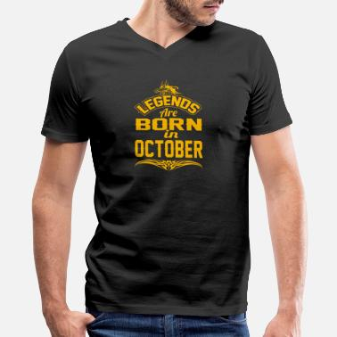959ab665 Legends Are Born In October LEGENDS ARE BORN IN OCTOBER OCTOBER LEGENDS  QUOTE - Men&#