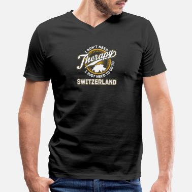 Zermatt Switzerlan - I just need to go to switzerland - Men's V-Neck T-Shirt by Canvas