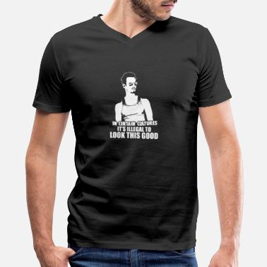 Chemie Tv Drama Johnny Drama - It's illegal to look this good - Men's V-Neck T-Shirt