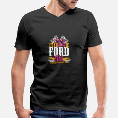 Michael Clifford Psychotic Ford girl - Everyone warned you about - Men's V-Neck T-Shirt