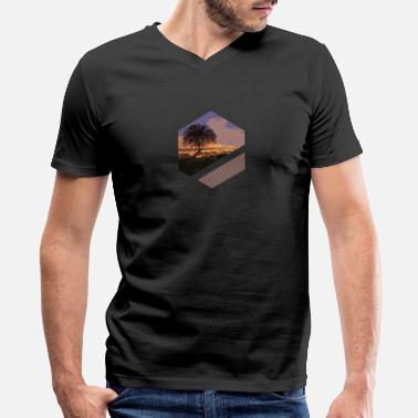 Scenic Scenic View - Men's V-Neck T-Shirt by Canvas