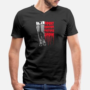 The Rocky Horror Picture Show Rocky horror picture show leggy - Men's V-Neck T-Shirt by Canvas