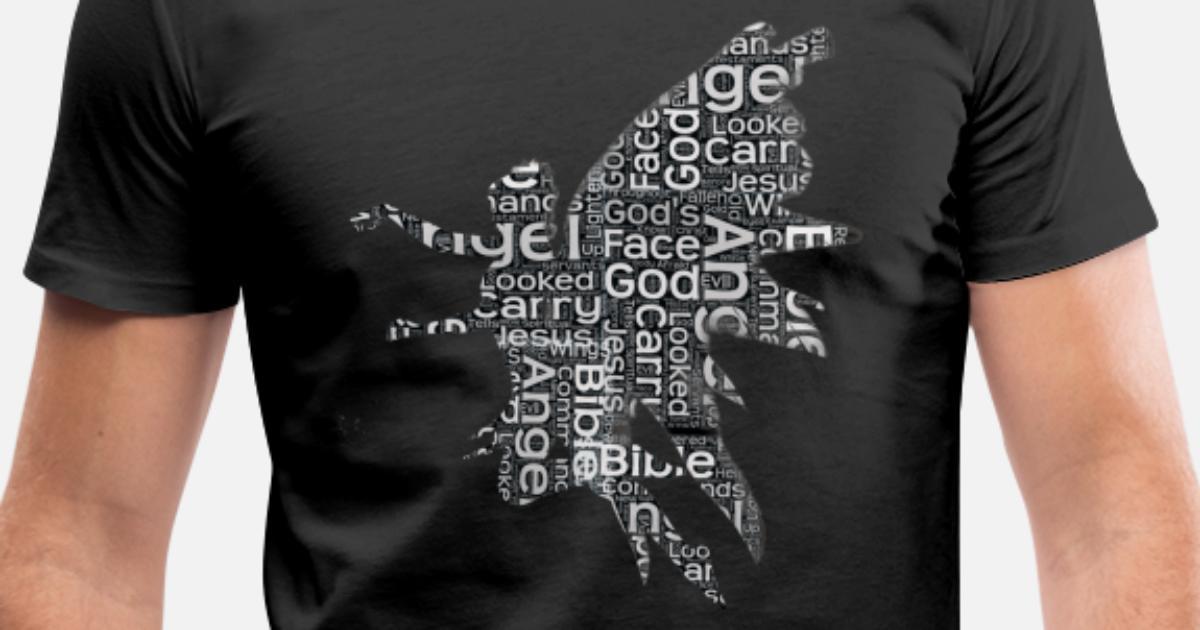 Angels God Bible Heaven Wings Prayer Holy Catholic Men's V-Neck T-Shirt    Spreadshirt