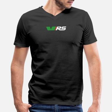 Vr VRS - Men's V-Neck T-Shirt by Canvas