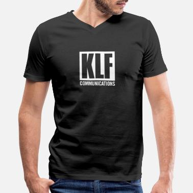 KLF Communications - Men's V-Neck T-Shirt