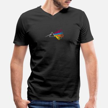 Dark Side of the Dice - Men's V-Neck T-Shirt