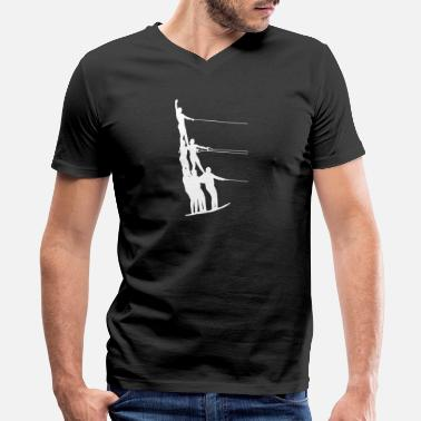 Water Sports Water Ski Water Sports - Men's V-Neck T-Shirt