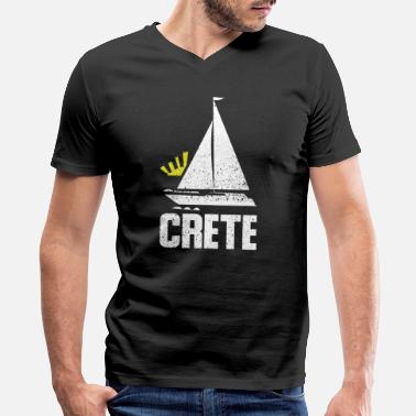 Crete Crete - Men's V-Neck T-Shirt