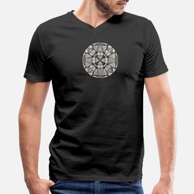 Potency Mandala The Power of potency - Men's V-Neck T-Shirt by Canvas