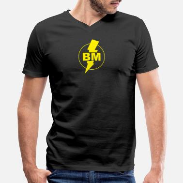 Best Man Best Man - Men's V-Neck T-Shirt by Canvas
