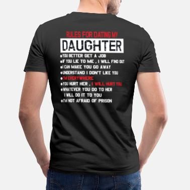 Dating rules for dating my daughter - Men's V-Neck T-Shirt