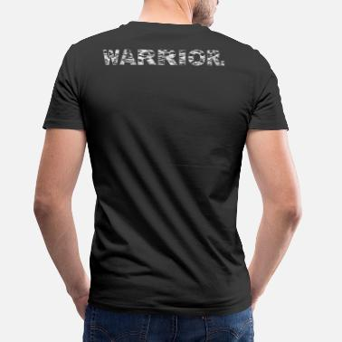 Christian Warrior WARRIOR - Men's V-Neck T-Shirt by Canvas