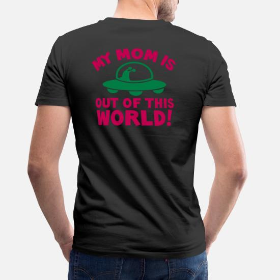 MY MOM is out of this World! mother's day alien Men's V-Neck