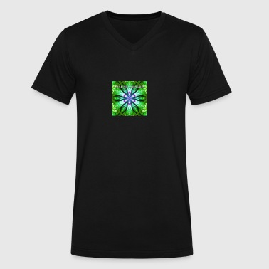 paganakasha mandala - Men's V-Neck T-Shirt by Canvas