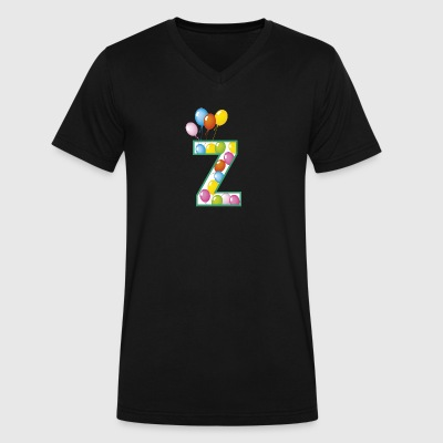 Z ballons - Men's V-Neck T-Shirt by Canvas
